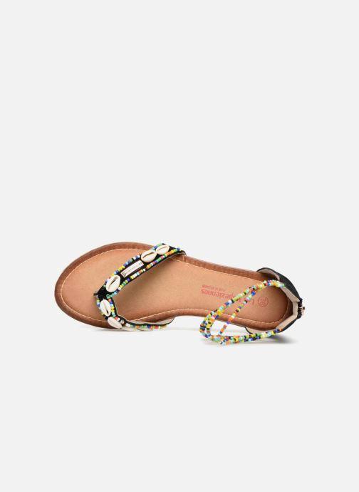 Sandales et nu-pieds Les Tropéziennes par M Belarbi Getta Noir vue gauche