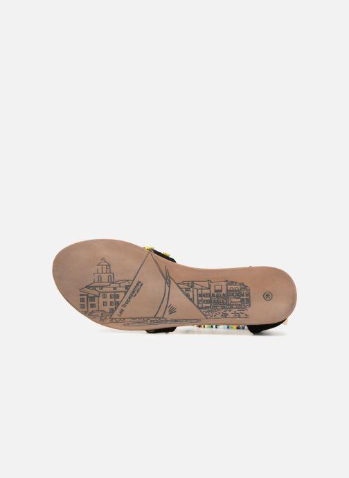 Sandales et nu-pieds Les Tropéziennes par M Belarbi Getta Noir vue haut
