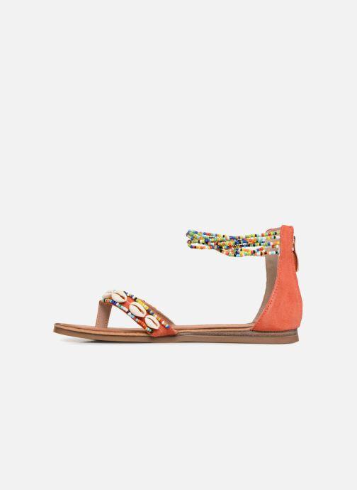 Sandales et nu-pieds Les Tropéziennes par M Belarbi Getta Rouge vue face