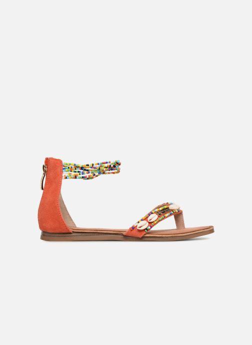 Sandales et nu-pieds Les Tropéziennes par M Belarbi Getta Rouge vue derrière