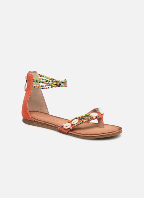 Sandales et nu-pieds Les Tropéziennes par M Belarbi Getta Rouge vue détail/paire