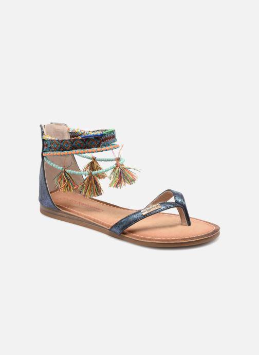 Sandaler Les Tropéziennes par M Belarbi Gringa1 Blå detaljeret billede af skoene