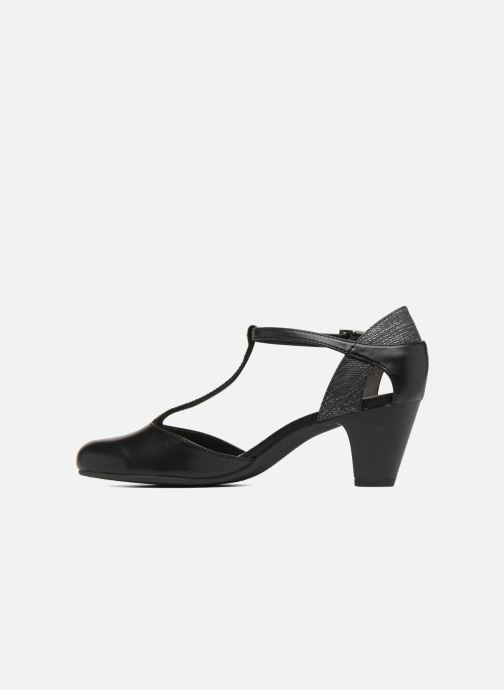 High heels S.Oliver Danoa 2 Black front view