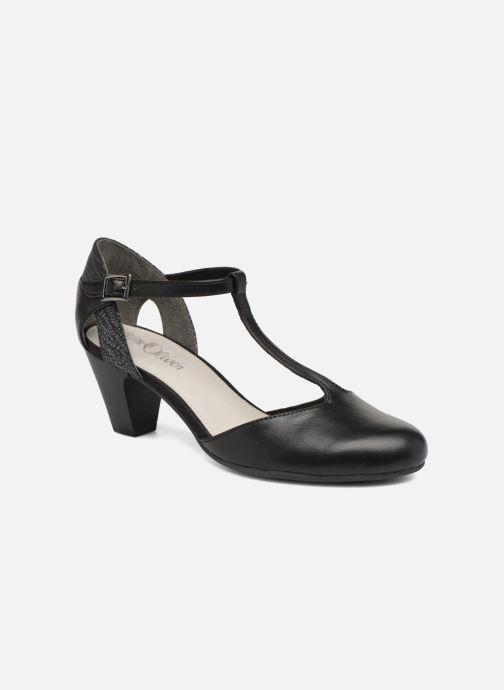 Høje hæle S.Oliver Danoa 2 Sort detaljeret billede af skoene
