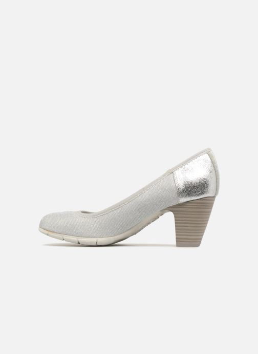 High heels S.Oliver Jirat Silver front view