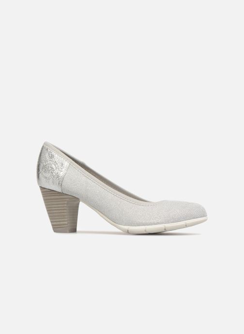 High heels S.Oliver Jirat Silver back view