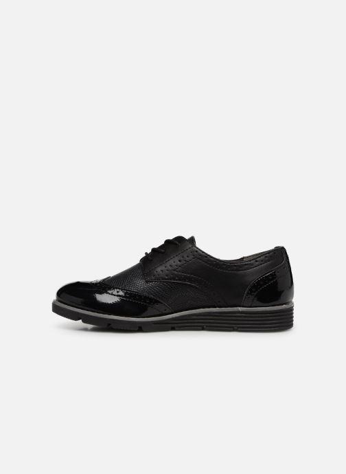 Chaussures à lacets S.Oliver Eliliane Noir vue face