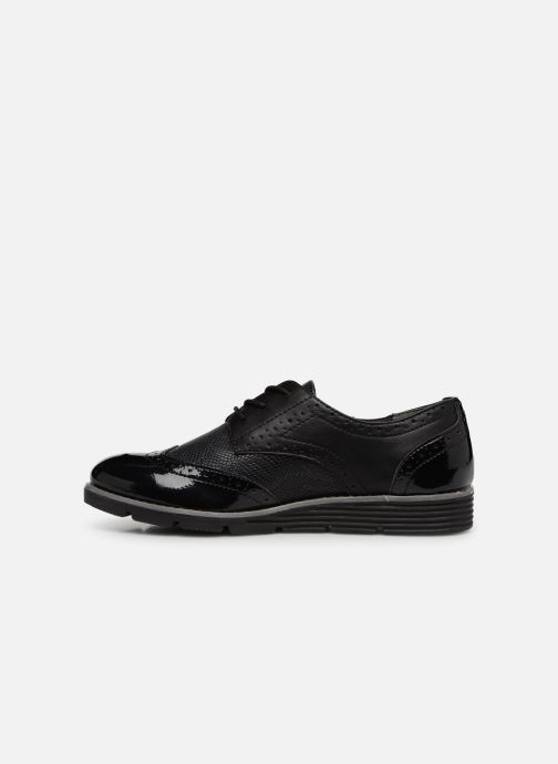 Lace-up shoes S.Oliver Eliliane Black front view