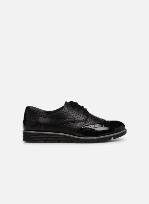 Lace-up shoes S.Oliver Eliliane Black back view