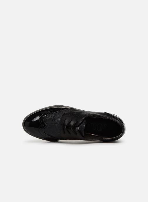 Chaussures à lacets S.Oliver Eliliane Noir vue gauche