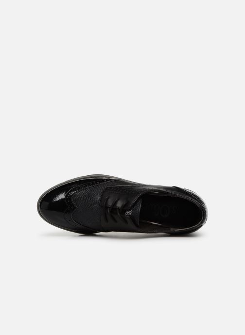 Lace-up shoes S.Oliver Eliliane Black view from the left