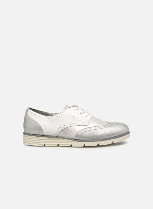 Lace-up shoes S.Oliver Eliliane White back view