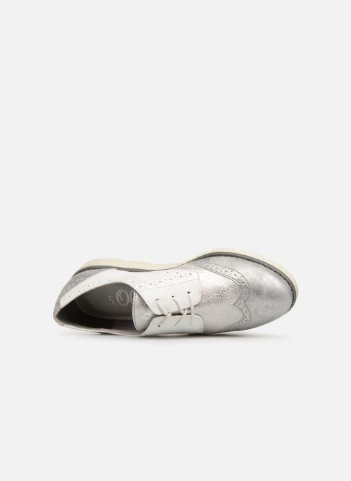 Chaussures à lacets S.Oliver Eliliane Blanc vue gauche