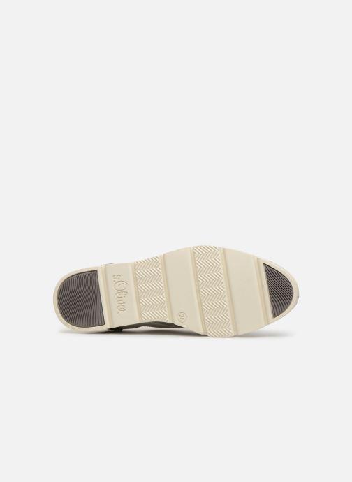 Chaussures à lacets S.Oliver Eliliane Blanc vue haut