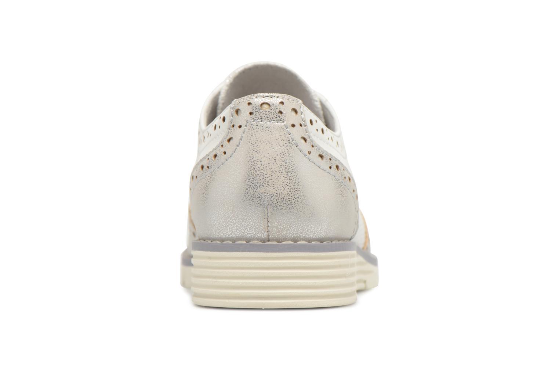 Chaussures à lacets S.Oliver Eliliane Blanc vue droite