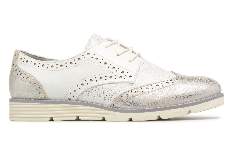 Chaussures à lacets S.Oliver Eliliane Blanc vue derrière