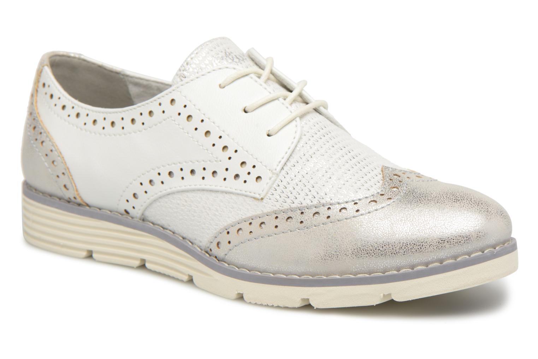 Chaussures à lacets S.Oliver Eliliane Blanc vue détail/paire