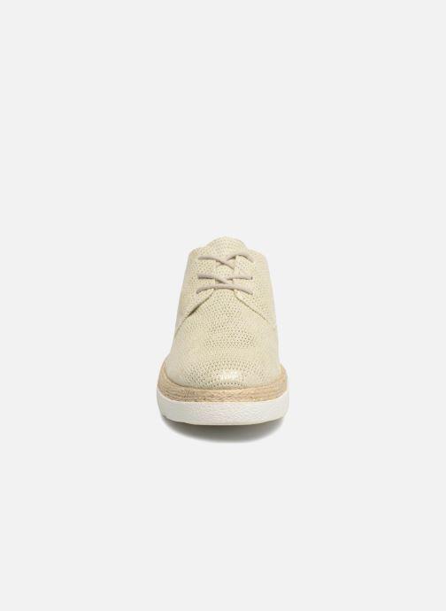 Zapatos con cordones S.Oliver Lormine Oro y bronce vista del modelo