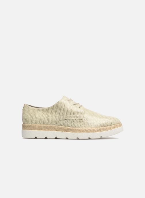 Lace-up shoes S.Oliver Lormine Bronze and Gold back view