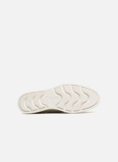 Chaussures à lacets S.Oliver Lormine Or et bronze vue haut