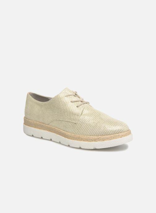 Chaussures à lacets S.Oliver Lormine Or et bronze vue détail/paire