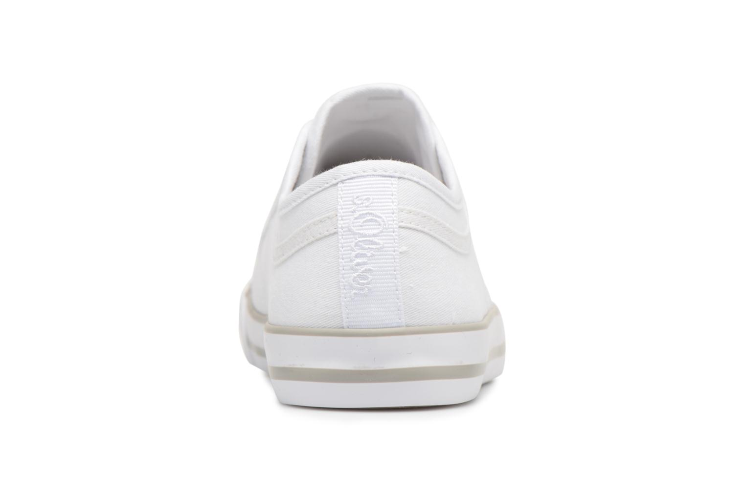 Trainers S.Oliver topinambour 2 White view from the right