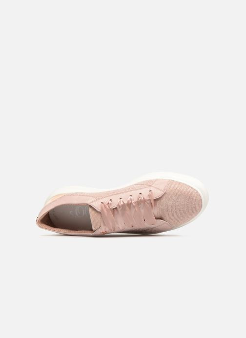 Trainers S.Oliver Gadsile Pink view from the left