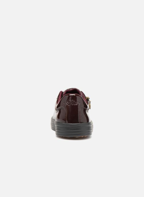 Trainers S.Oliver Boreas Burgundy view from the right