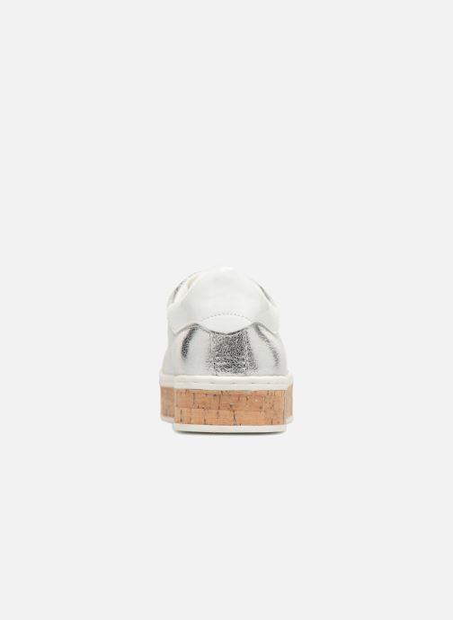 Sneaker S.Oliver Ethriane silber ansicht von rechts