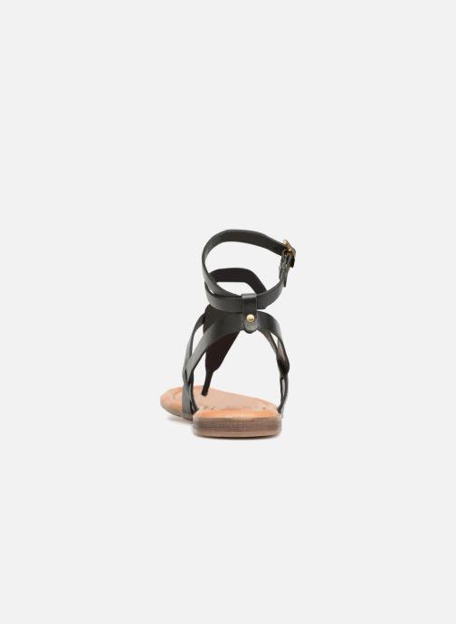 Sandales et nu-pieds S.Oliver Laiktane Noir vue droite