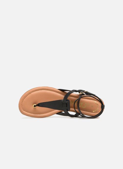 Sandales et nu-pieds S.Oliver Laiktane Noir vue gauche