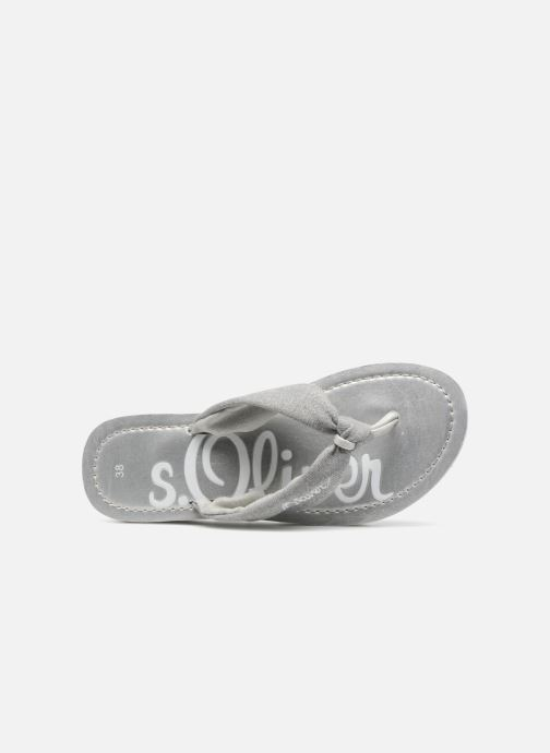 Flip flops S.Oliver Deliam Grey view from the left