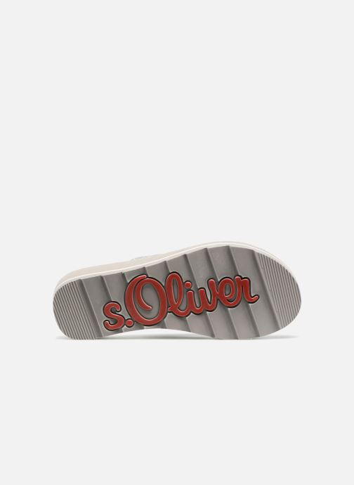 Flip flops S.Oliver Deliam Grey view from above