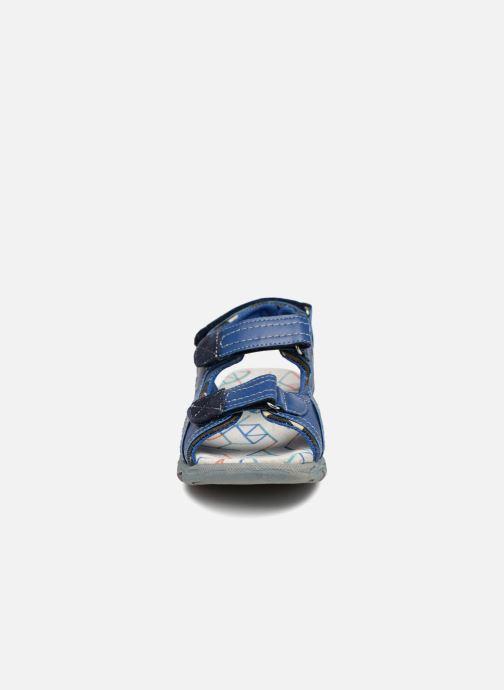 Sandales et nu-pieds ASSO Aldo Bleu vue portées chaussures