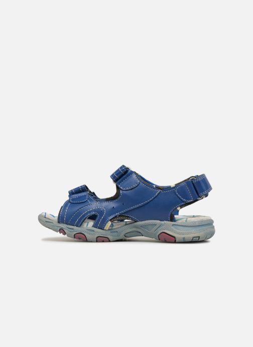 Sandales et nu-pieds ASSO Aldo Bleu vue face