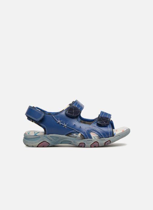 Sandales et nu-pieds ASSO Aldo Bleu vue derrière