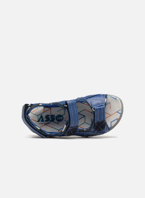Sandales et nu-pieds ASSO Aldo Bleu vue gauche