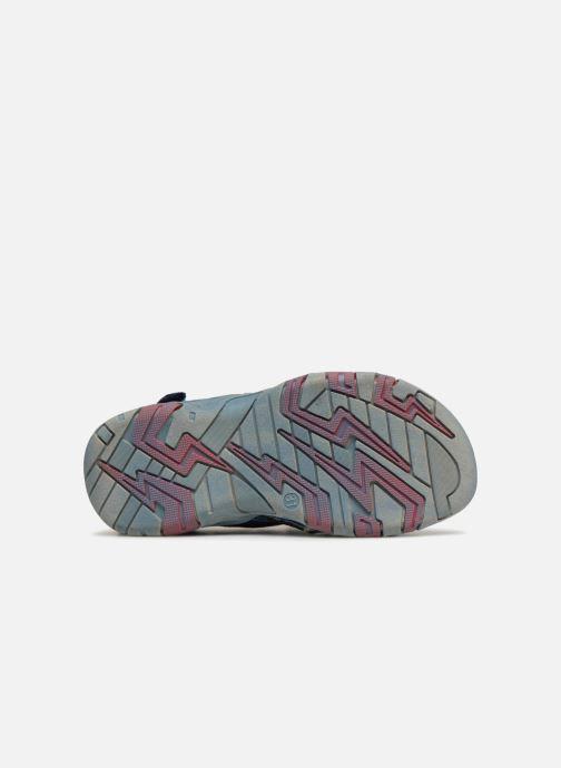 Sandales et nu-pieds ASSO Aldo Bleu vue haut