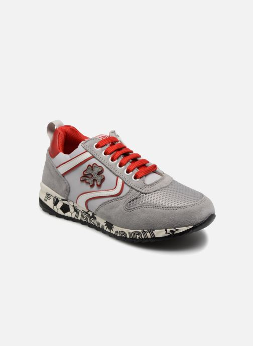 Trainers ASSO Luca Grey detailed view/ Pair view