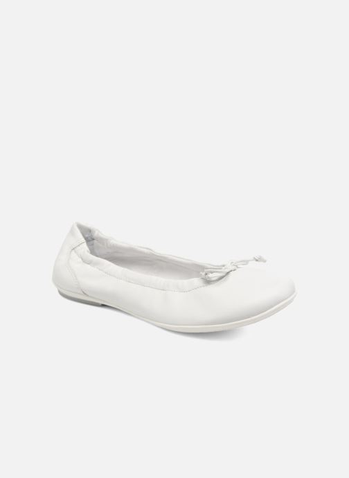Ballet pumps ASSO Nadia White detailed view/ Pair view