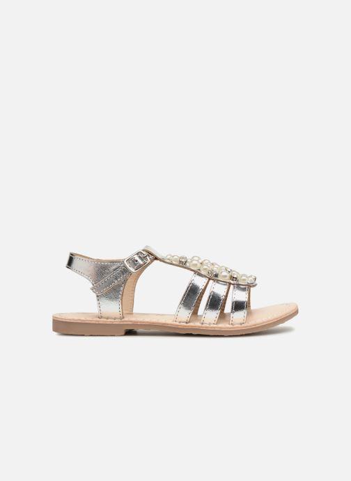 Sandales et nu-pieds ASSO Viviana Argent vue derrière