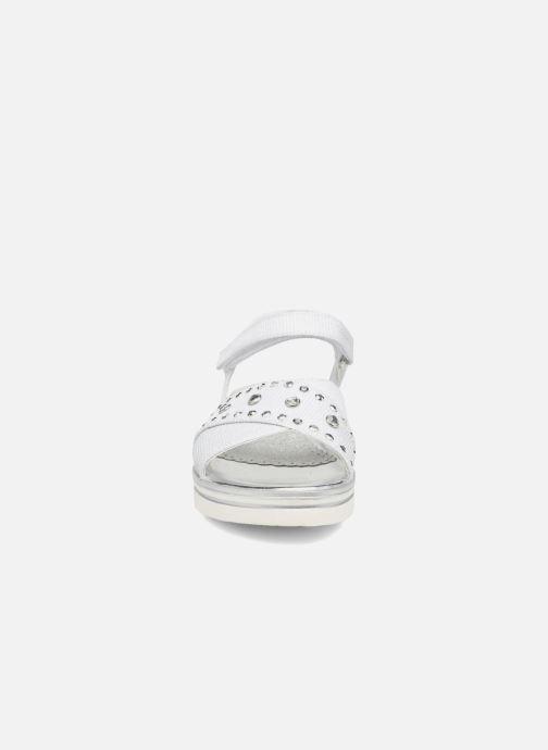Sandales et nu-pieds ASSO Zoe Argent vue portées chaussures