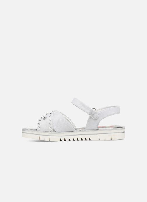 Sandals ASSO Zoe Silver front view