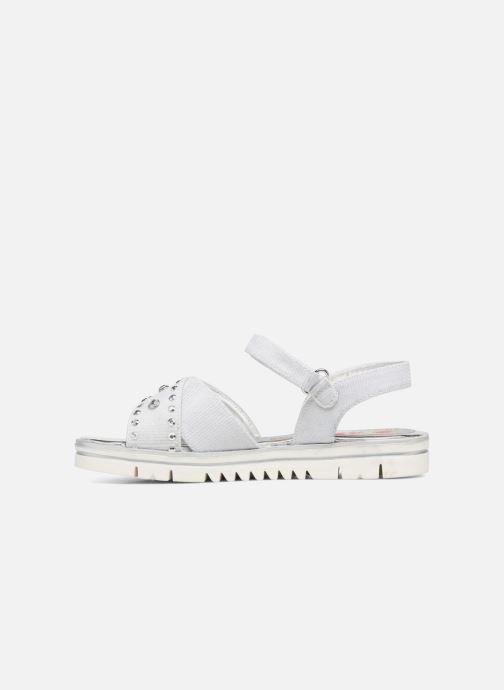 Sandales et nu-pieds ASSO Zoe Argent vue face