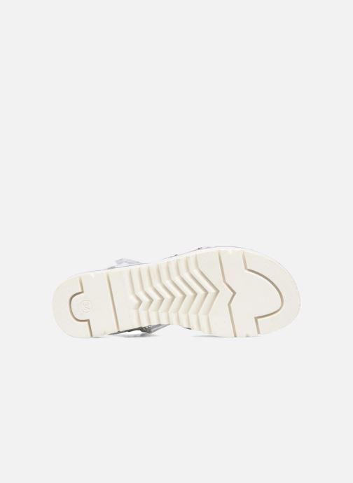 Sandales et nu-pieds ASSO Zoe Argent vue haut