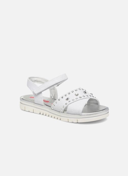 Sandals ASSO Zoe Silver detailed view/ Pair view