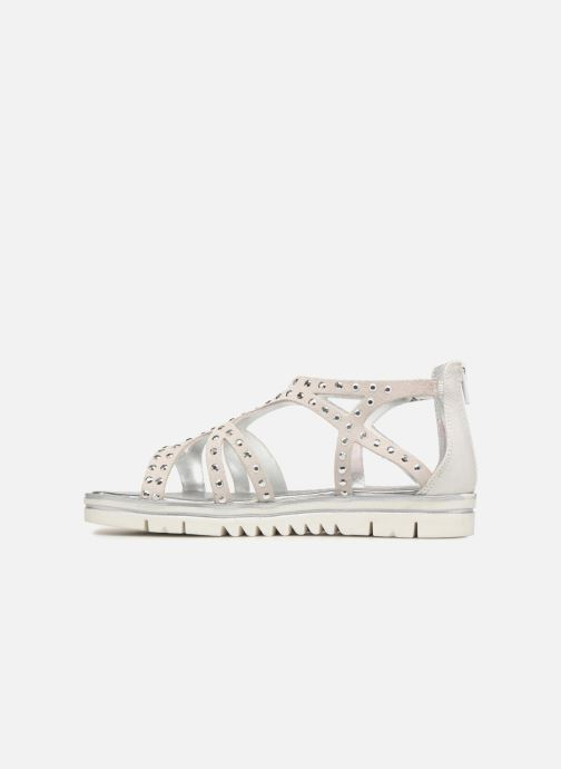 Sandals ASSO Perla Grey front view
