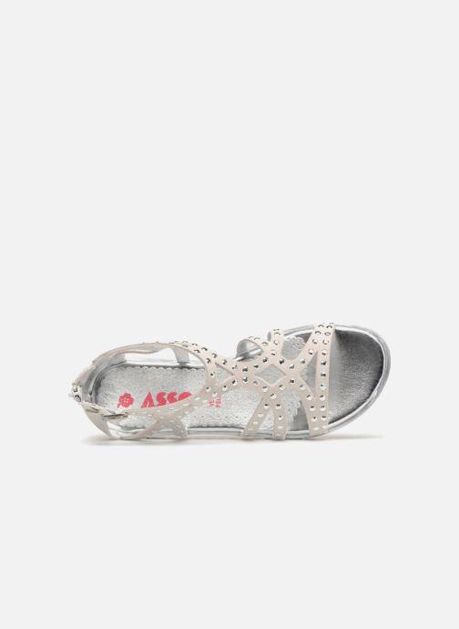 Sandali e scarpe aperte ASSO Perla Grigio immagine sinistra