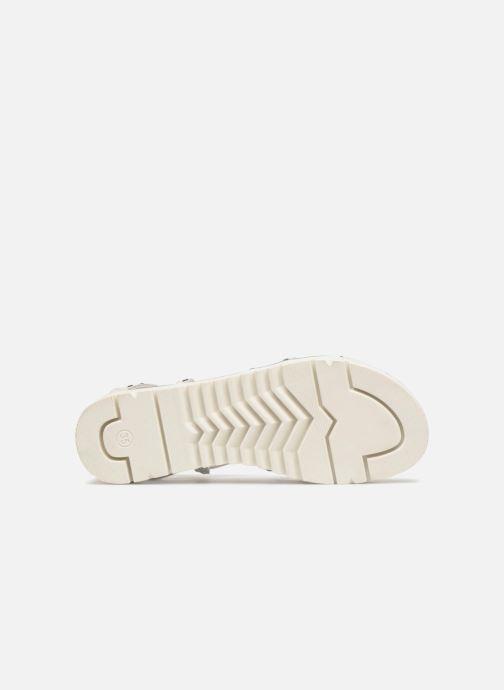 Sandales et nu-pieds ASSO Perla Gris vue haut