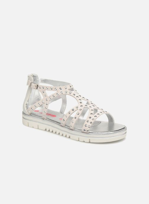 Sandals ASSO Perla Grey detailed view/ Pair view